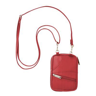 BeSafe RFID Compact Passport Zipper Wallet