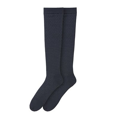 Dot Compression Dress Socks