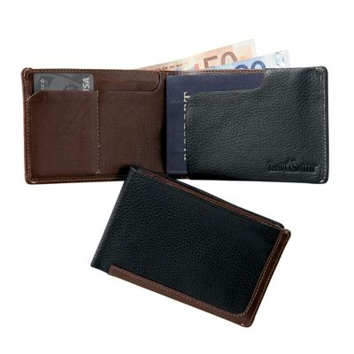 Continental RFID-Blocking Davis Leather Passport Wallet