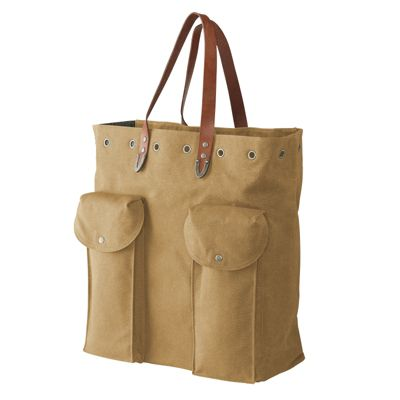 Parson Gray Canvas Carrier
