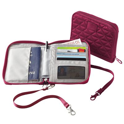 Pacsafe RFIDsafe W150 Organizer Wallet