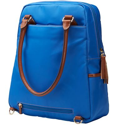 Samantha Brown RFID-Blocking Convertible Backpack