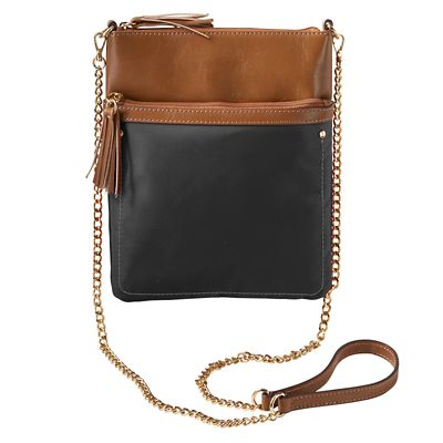 Samantha Brown RFID-Blocking Mini Crossbody Bag