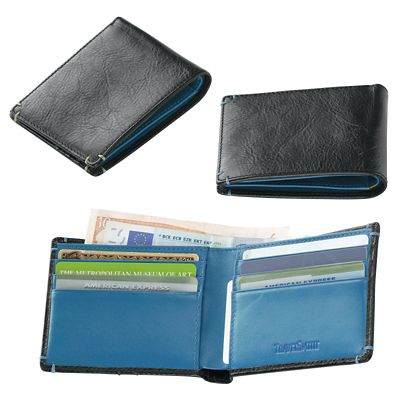 RFID-Blocking Bifold Wallet