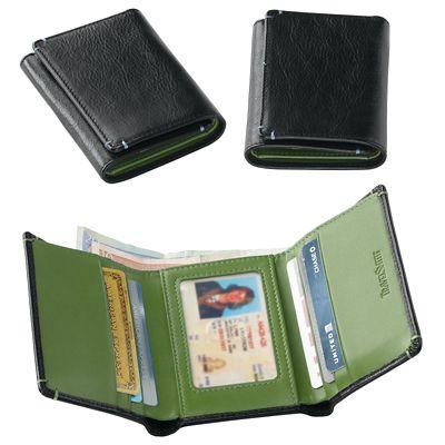 RFID-Blocking Trifold Wallet