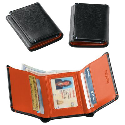 RFID-Blocking Trifold Wallet