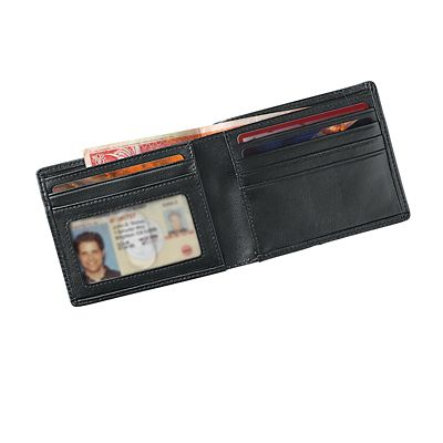 Leather RFID-Blocking Thinfold Wallet