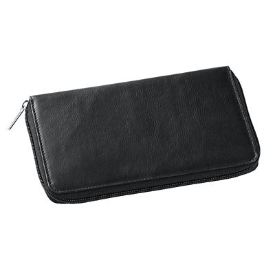 RFID-Blocking Leather Clutch