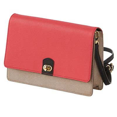 Signature RFID-Blocking Crossbody Bag