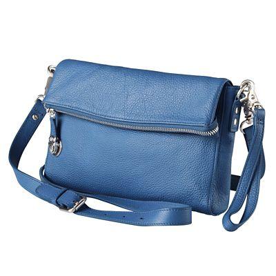 Signature RFID-Blocking Leather Crossbody Bag