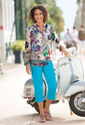 Georgina Popover Shirt Outfit