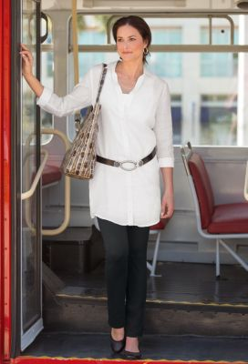 Linen Tunic Outfit