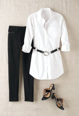 Foxcroft Non-Iron Newport Tunic Outfit