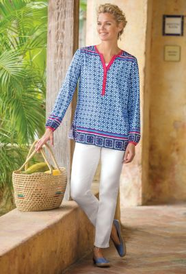 Mosaico Popover Tunic Outfit