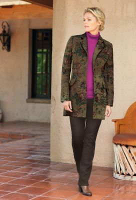Tapestry Riding Jacket Outfit