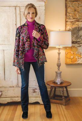 Alexandra Shawl Jacket Outfit