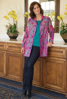 Paisley & Scroll Jamevar Jacket Outfit