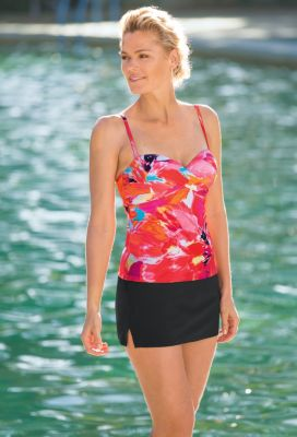 Contour Floral Tankini Outfit