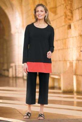 Jet Set Colorblock Tunic Outfit