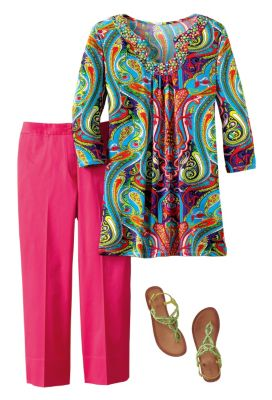 Berek for TravelSmith Joya Tunic Outfit