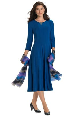 Voyager Knit Frederique Dress Outfit