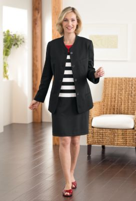 UltraPonte Long Jacket Outfit