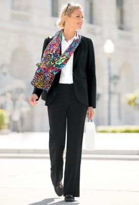 Ponte Perfect Blazer Outfit