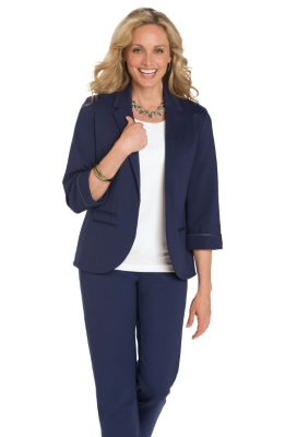 Ponte Perfect Bernadette Jacket Outfit