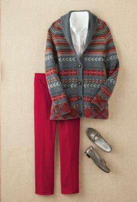 Cumberland Cardigan Outfit