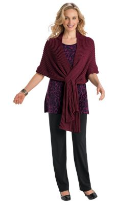 Perfect Wrap Shawl Outfit