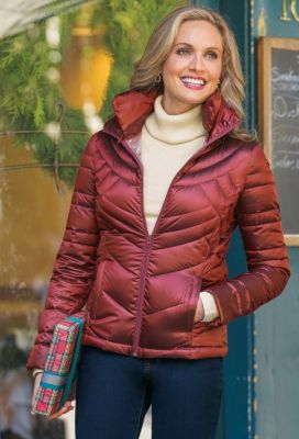 Waverly Quilted Down Jacket Outfit