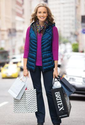 Waverly Quilted Down Vest Outfit