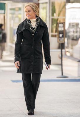 ExOfficio Fleece Coat Outfit
