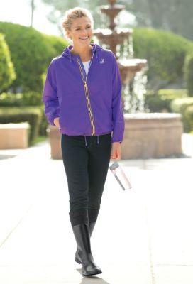 K-Way Claudette Women's Rain Jacket Outfit
