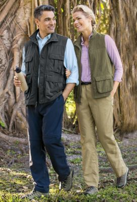 Men's & Women's Voyager Vest Outfit