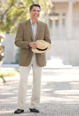Tropical Microfiber Sport Coat Outfit