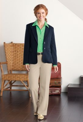 Foxcroft Pinpoint Non-Iron Shirt Outfit